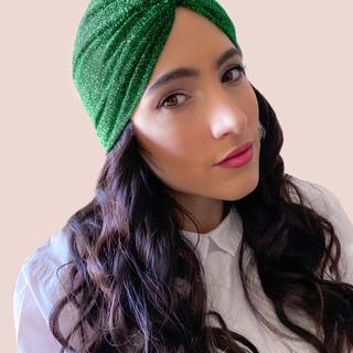 Turbante Verde
