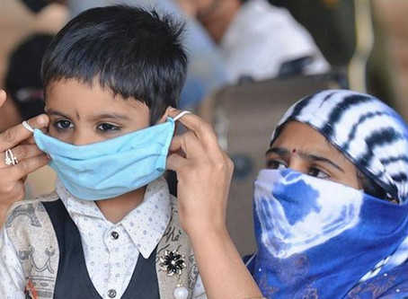 Children during COVID-19 : A review of  India's response