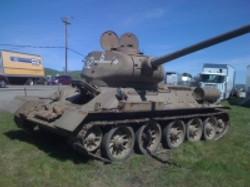 T34 Soviet Tank