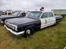 1963 Chevy Police Car