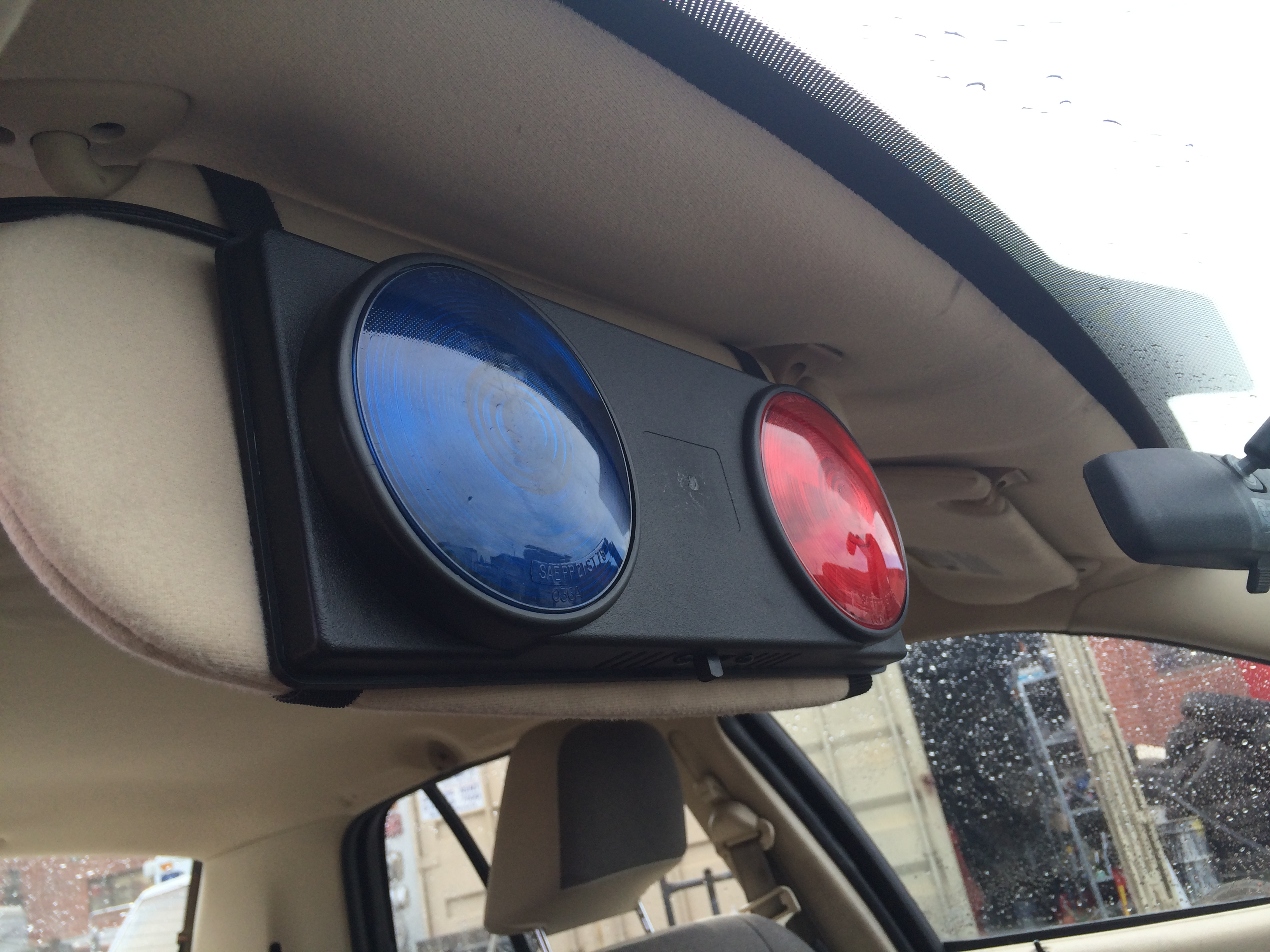 Police Visor Lights