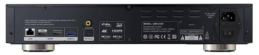 REAVON UBR-X100 Universal Disc Player - Ultra HD Blu-ray, Blu-ray, DVD, SACD, CD