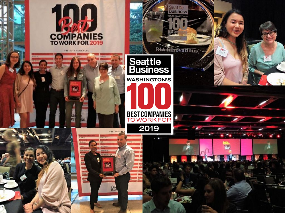 Seattle Business 100 Best Companies to Work For Celebratory Event June 2019