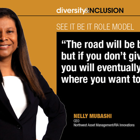 Nelly Mubashi Recognized as an InvestmentNews 2020 Excellence in Diversity & Inclusion Awards Winner