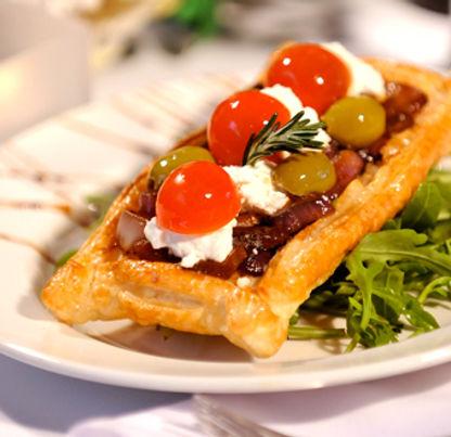 Mediterranean tartlet