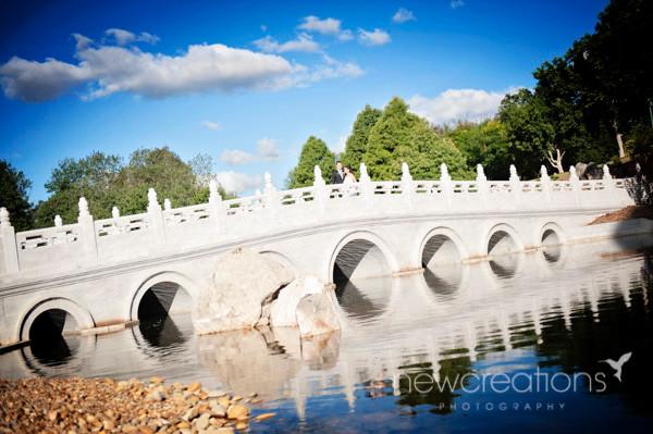 The spectacular marble bridge