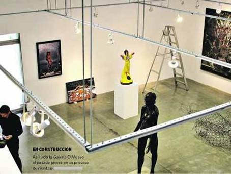 """Dos generaciones dialogan en """"Paralelo"""". Galería D´ Museo."""