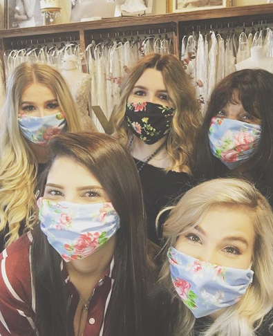 Finding Your Wedding Gown in a Pandemic: The Things We've Learned