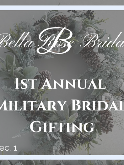 Our First Annual Bridal Gifting Event