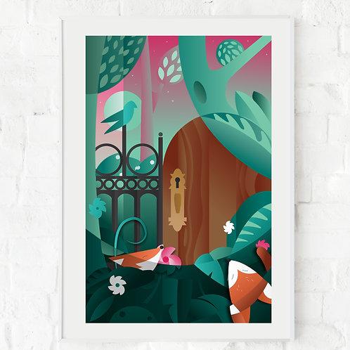 The Secret Garden 11x17 Print