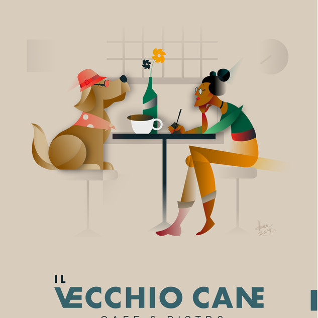 Vechio Cane Poster 2