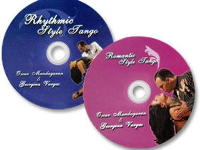Tango Estilo Rítmico y Tango Estilo Romántico