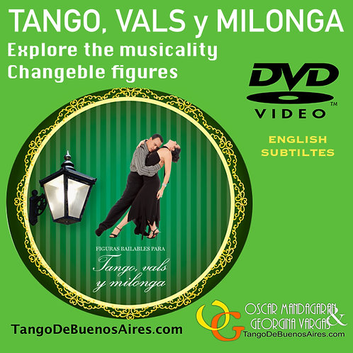 Tango, Vals y Milonga en formato HD