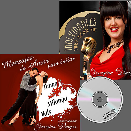 Combo Georgina music CD