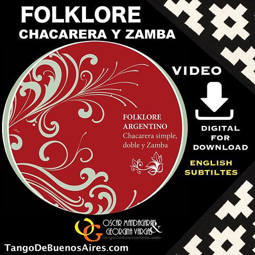 Chacarera Simple, Doble y Zamba en formato HD