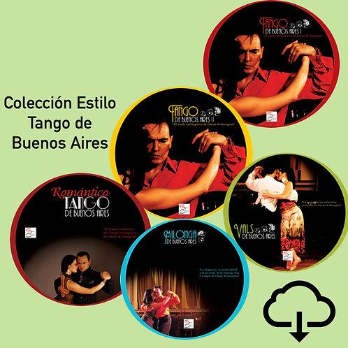 Colección estilo Tango de Buenos Aires