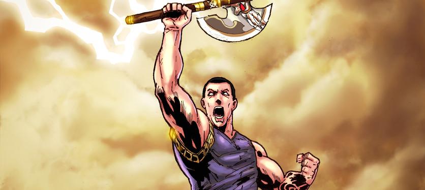 Dody Eka-Ra Sketch-Raising axe with ligh