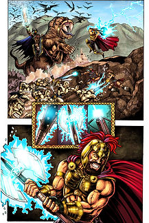 Anibal Arroyo-Zion 3-Issue # 1-Axe set t