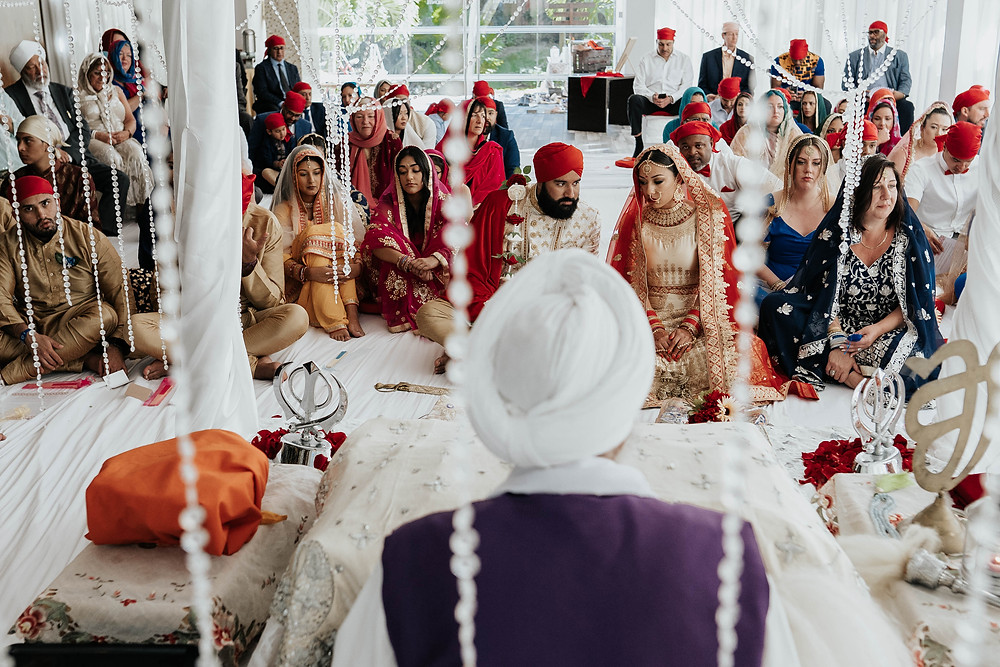 sikh ceremony mexico cancun photography sandos playacar