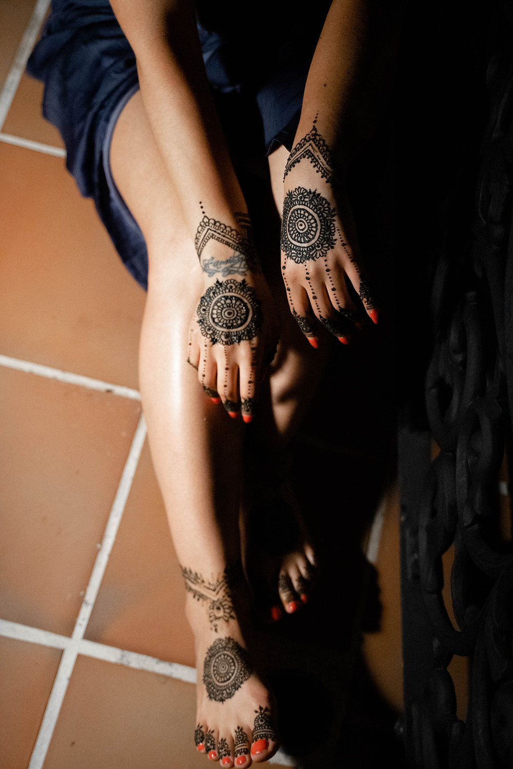 bridal mehendi cancun mexico