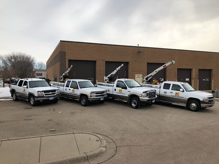 Service truck fleet | Equipped for confined space entry