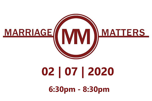 2020 Marriage Matters
