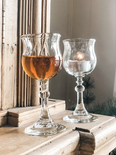 Vintage aperitif glass set (2)