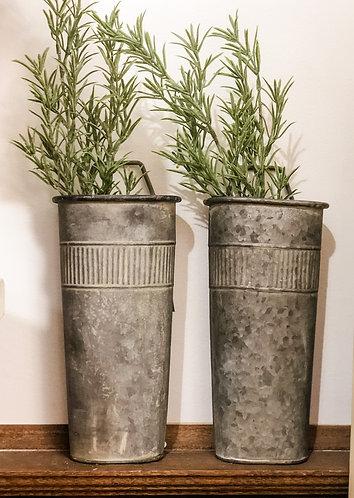 Tin Wall Pot