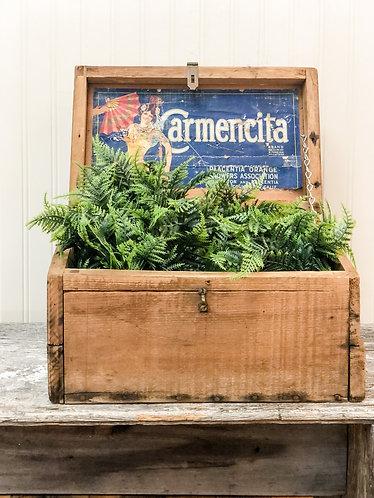 Vintage Advertising Box
