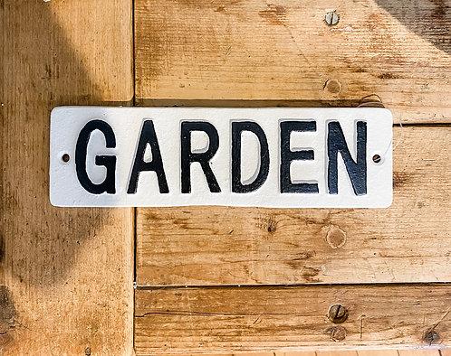 Little Garden Sign