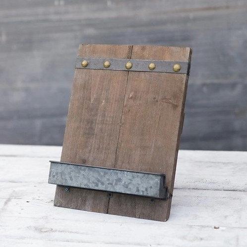 Rustic Tablet Holder