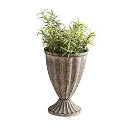 Small Metal Flower Pot