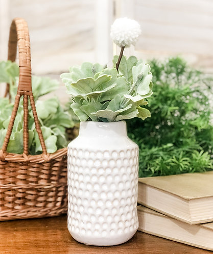 Tall Dimple Vase