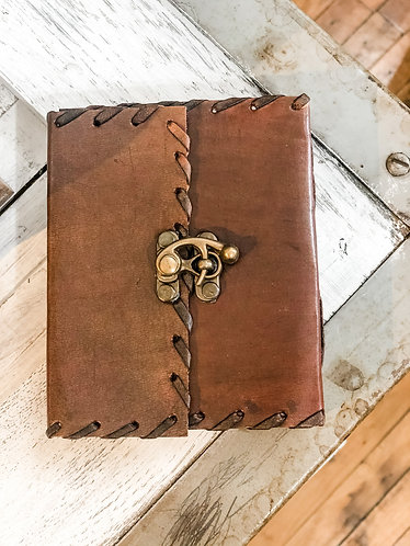 Leather Latch Notebook