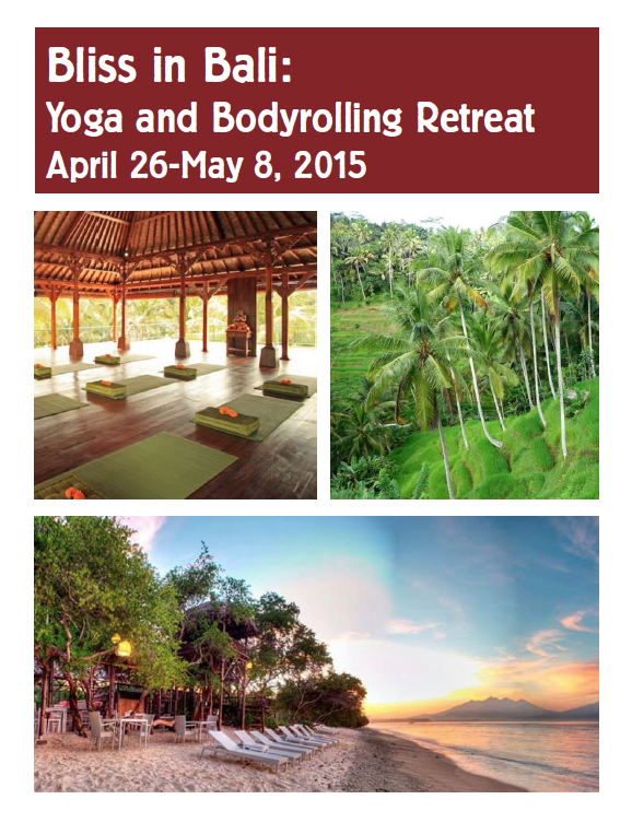 Yoga Retreat brochure