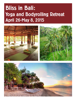 Yoga Retreat brochure