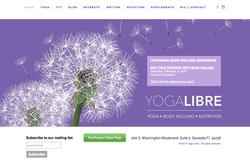 Yoga Libre Website