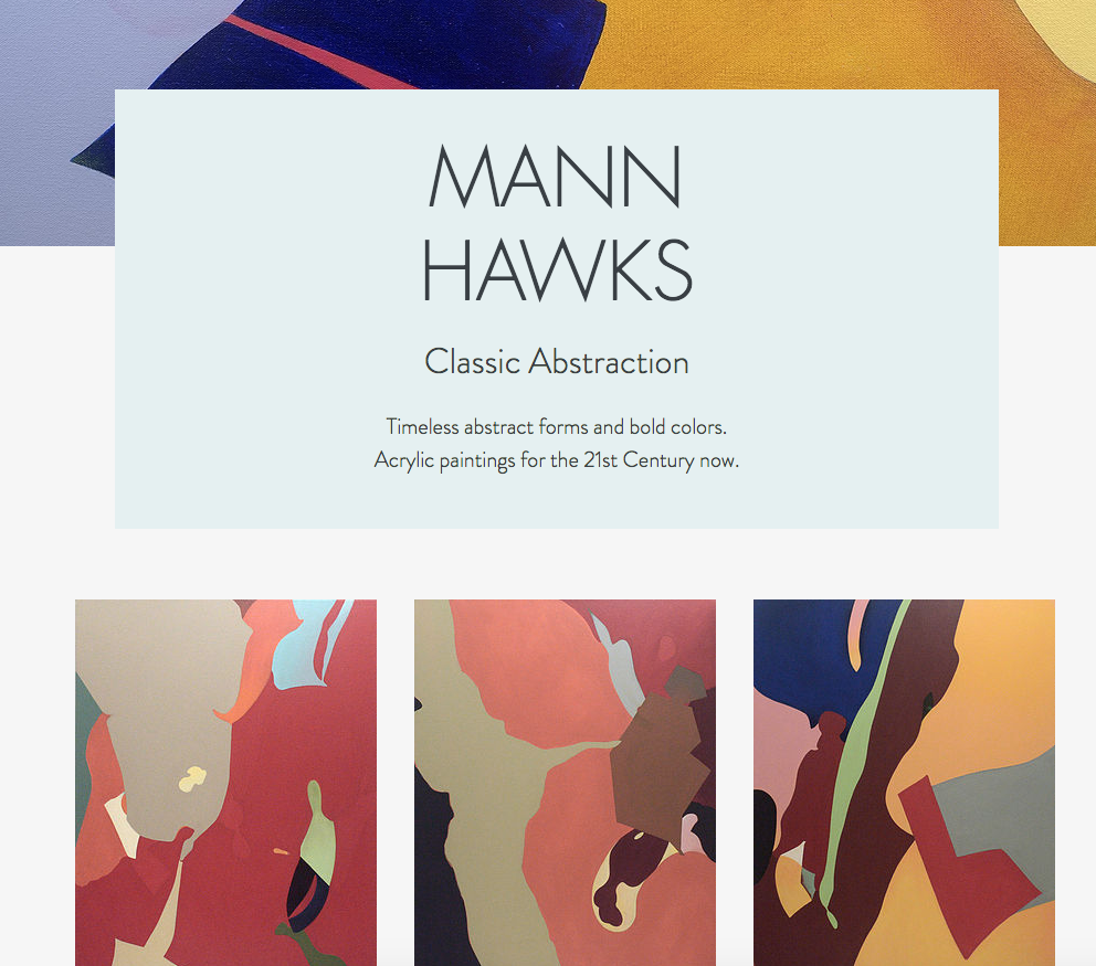 Mann Hawks website