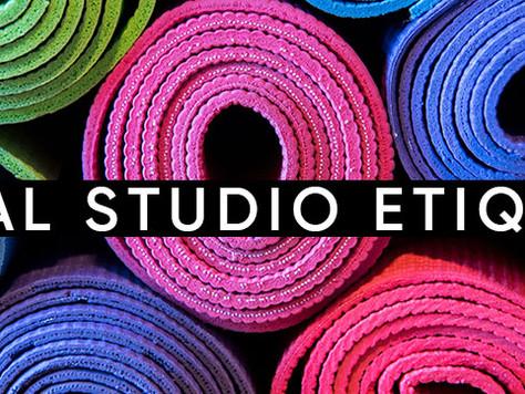 Virtual Studio Etiquette