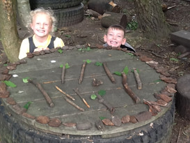 Art inspired by Andy Goldsworthy