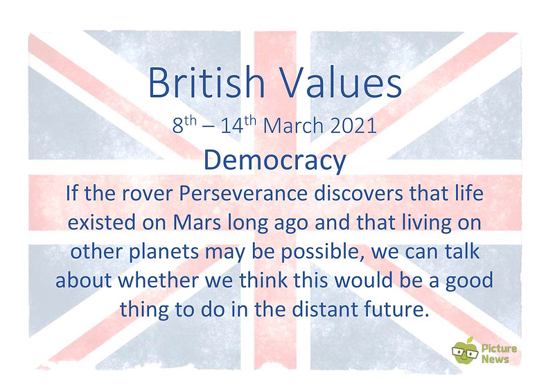 British Values and UN Rights - 8th March