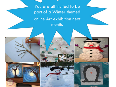 Calling all Artists! Winter Art exhibition.