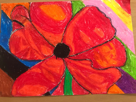 Year 6 Remembrance Day Artwork