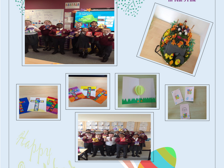 Happy Easter from Year 5 Pine