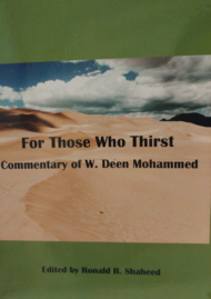 For Those Who Thirst