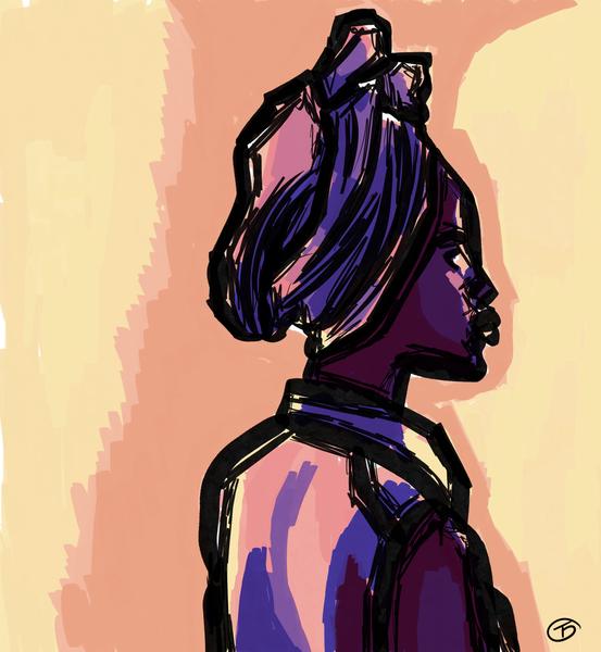 Medium: Digital Prints/illustrations Size: 24x26 Price: $100