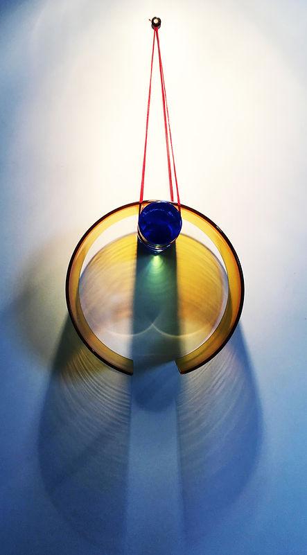 Roisin de Buitlear glass piece