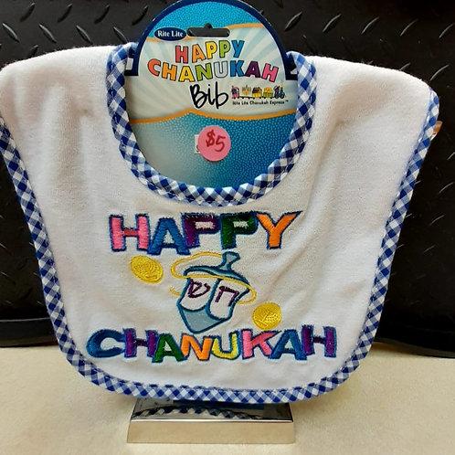 Baby Bib - Happy Hanukkah