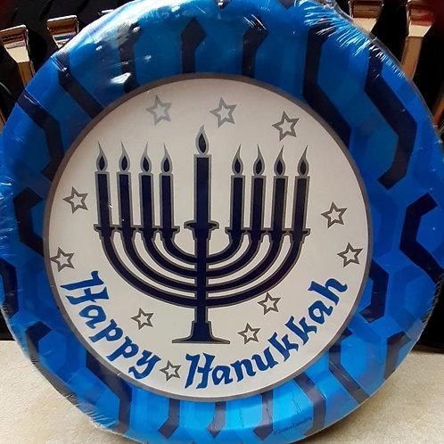 Hanukkah Dinner Plates