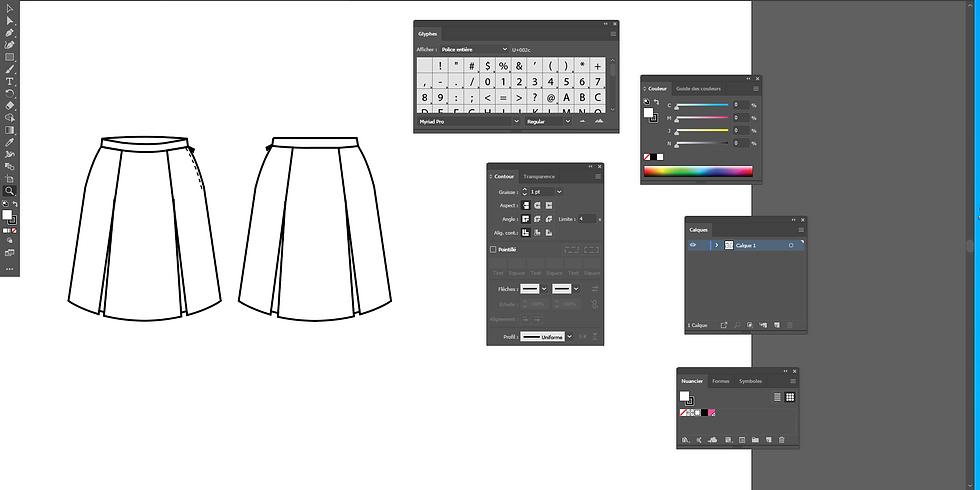 Dessin de Mode - Illustrator I 5 jours